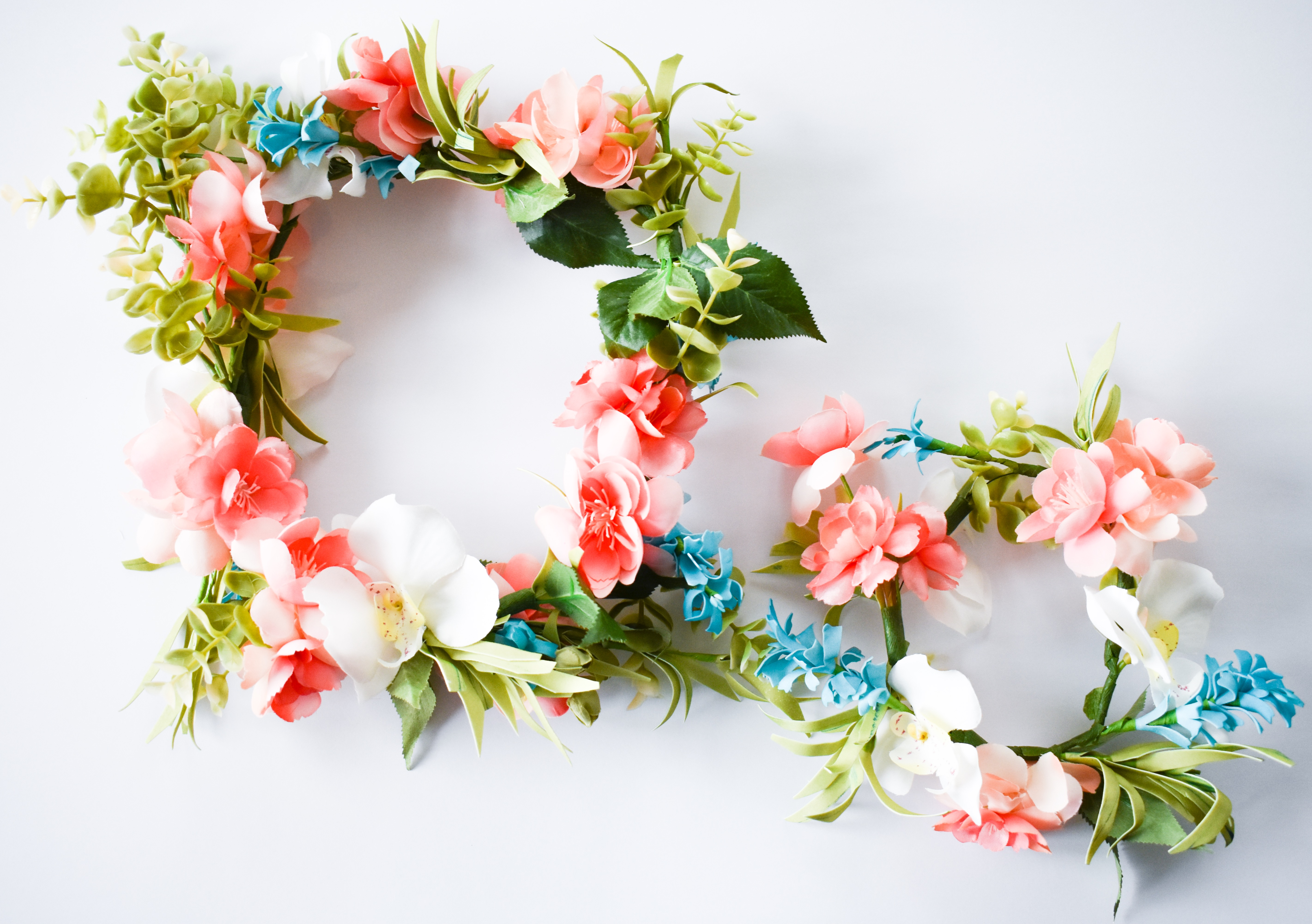 How To Make A Flower Crown With Fake Flowers [Easy DIY