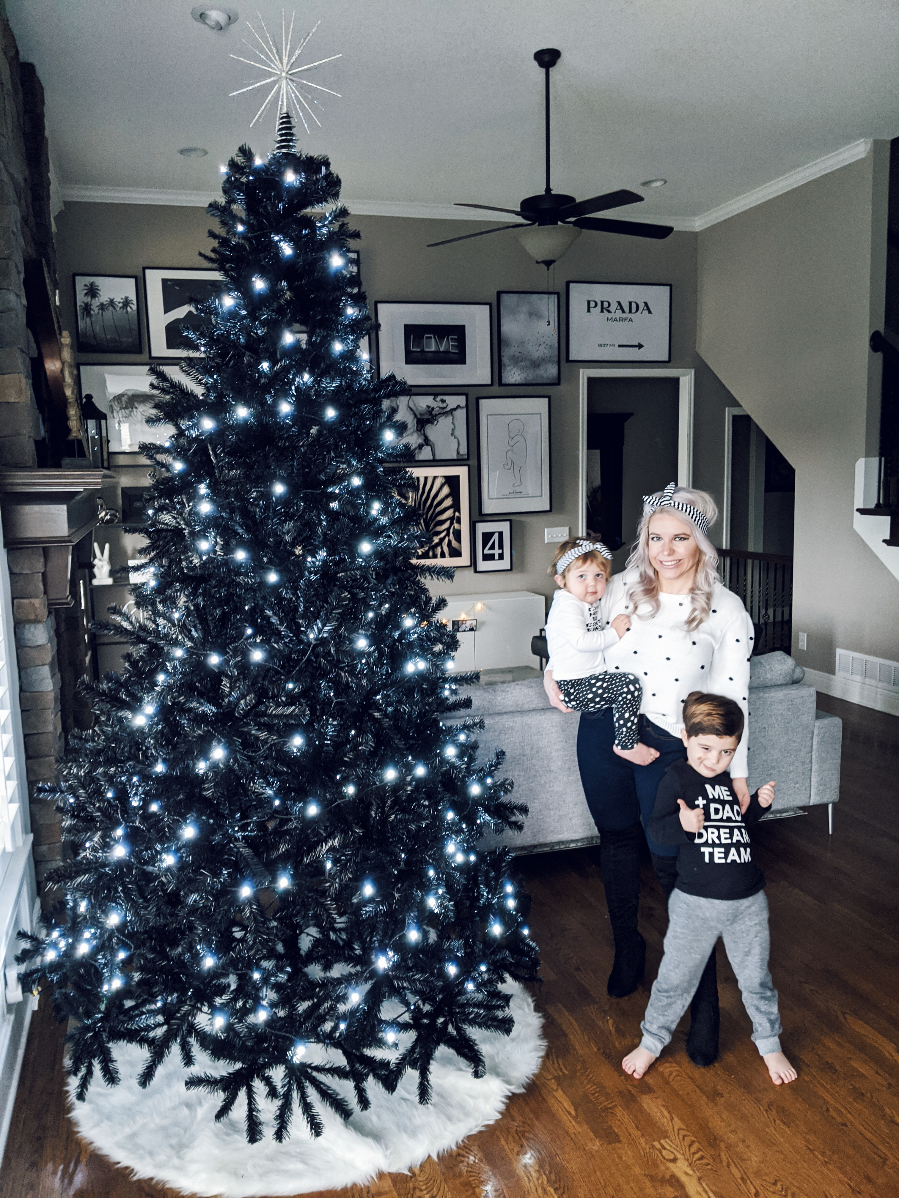 Black Christmas Tree Decorations Uk Novocom Top